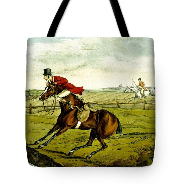 Stopping At Water From Qualified Horses And Unqualified Riders Tote Bag
