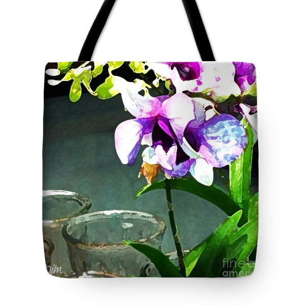 Tote Bag featuring the photograph Store Bought Flowers by Phil Mancuso