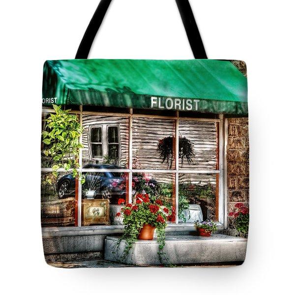 Store - Florist Tote Bag by Mike Savad