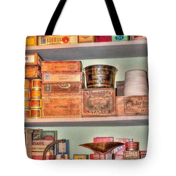 Store - General Store Tote Bag by Liane Wright