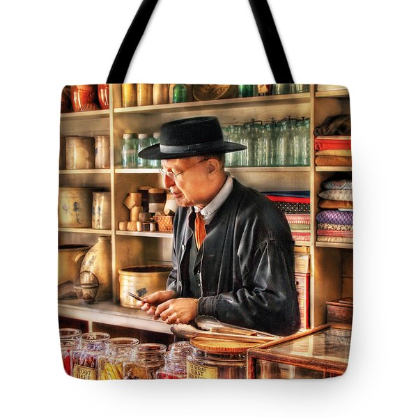 Store - In The General Store Tote Bag by Mike Savad