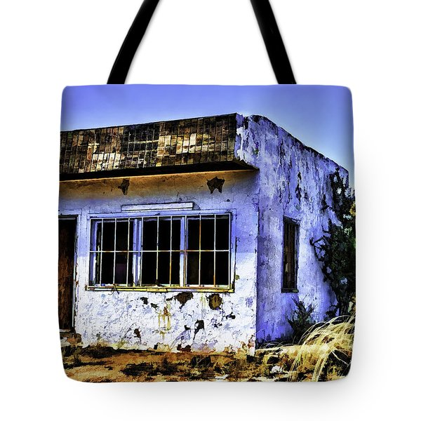 Tote Bag featuring the painting Store by Muhie Kanawati