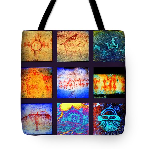 Stories On Stone Tote Bag by Joe Jake Pratt