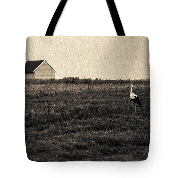 Stork's Tale Tote Bag by Yevgeni Kacnelson