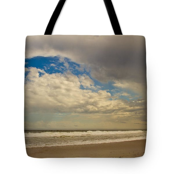 Storm Approaching Tote Bag by Karol Livote