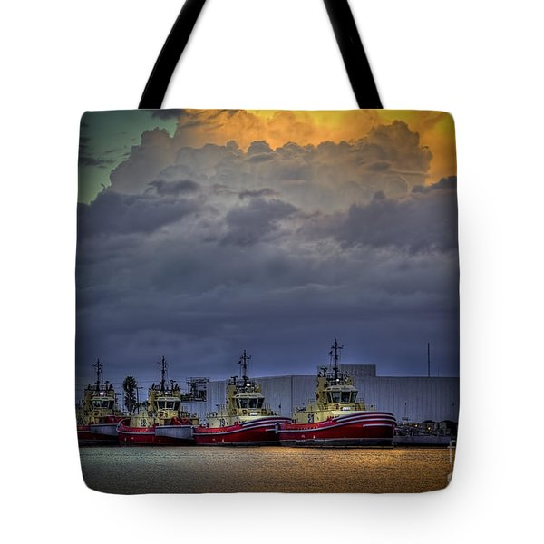 Storm Brewing Tote Bag by Marvin Spates
