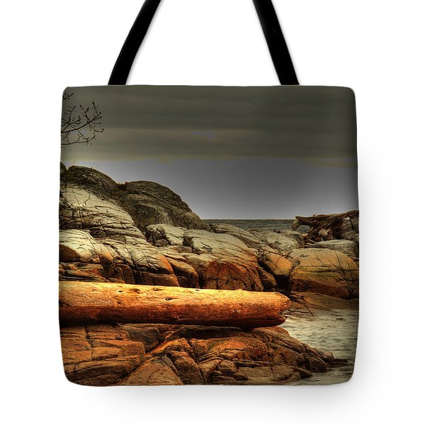 Storm Brewing Tote Bag by Randy Hall