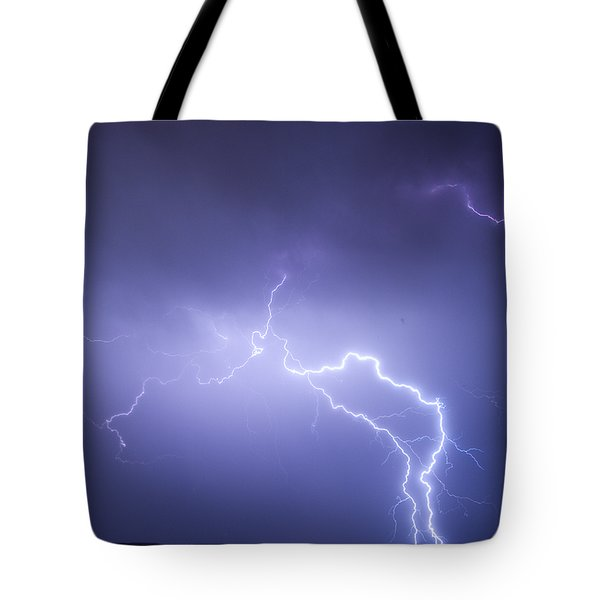 Storm Chase Six Twenty Eight Thirteen Tote Bag by James BO  Insogna