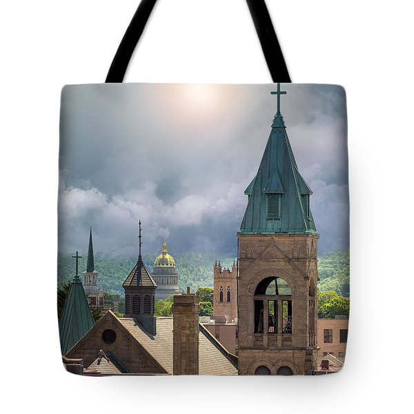 Storm Clouds In Charleston Wv Tote Bag
