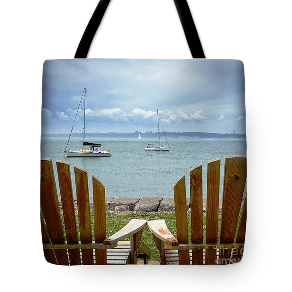 Storm Coming Tote Bag by Mike Ste Marie