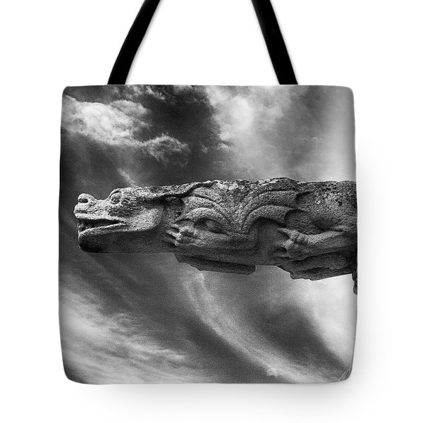 Storm Dragon Tote Bag