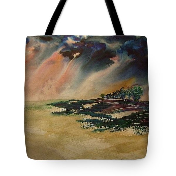 Storm In The Heartland Tote Bag