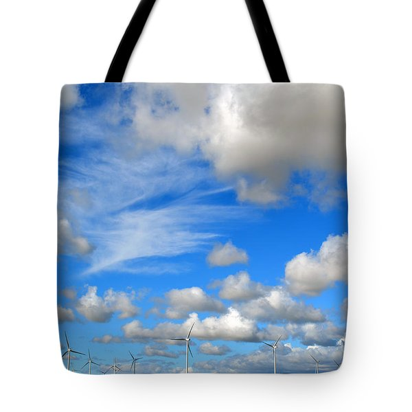 Storm Is Over Tote Bag