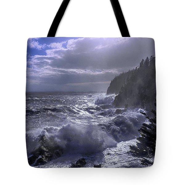 Storm Lifting At Gulliver's Hole Tote Bag by Marty Saccone