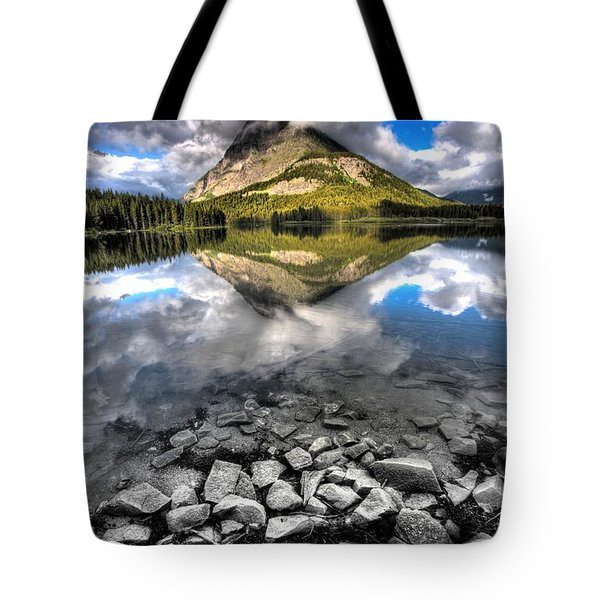 Storm Mountain II Tote Bag