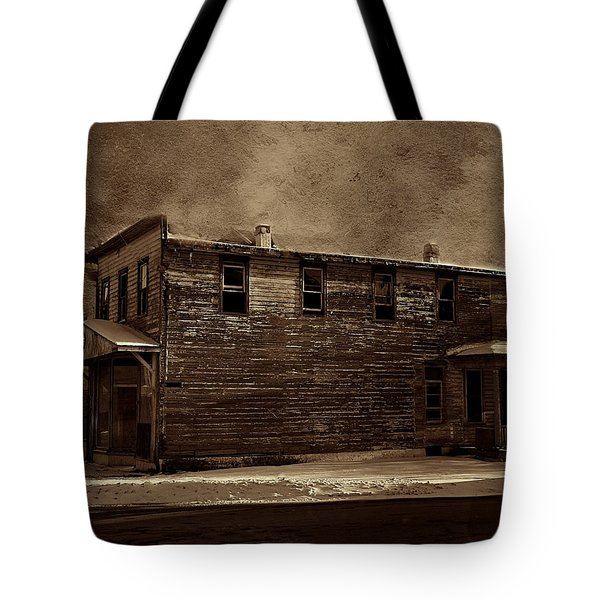 Storm Of 1888 Tote Bag by David Dehner