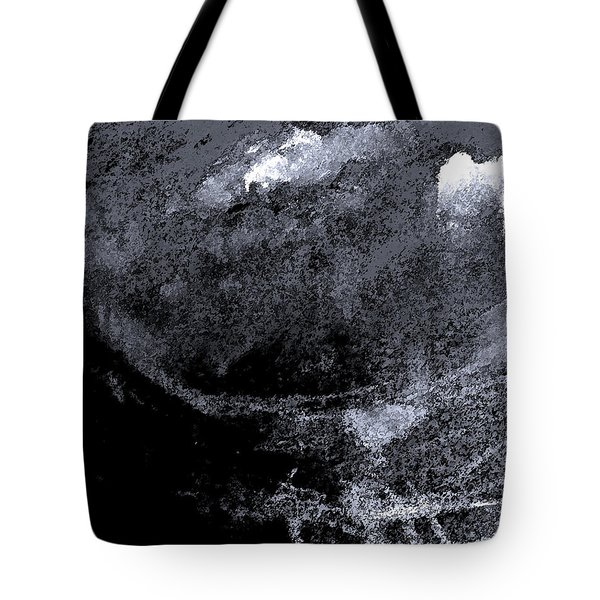 Storm On Everest Tote Bag by Lenore Senior