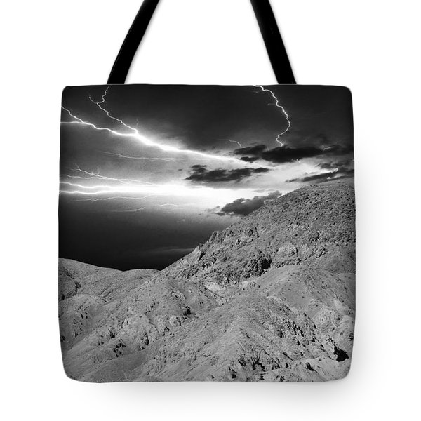 Storm On The Mountain Tote Bag by Athala Carole Bruckner