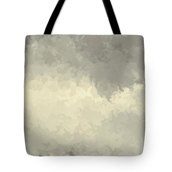 Storm Over A Cornfield Tote Bag