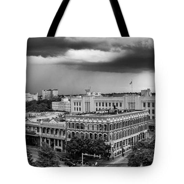Storm Over San Antonio Texas Skyline Tote Bag