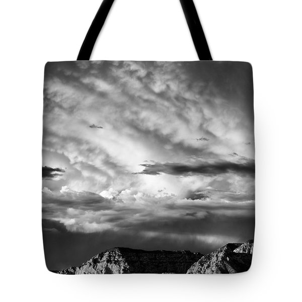Storm Over Sedona Tote Bag