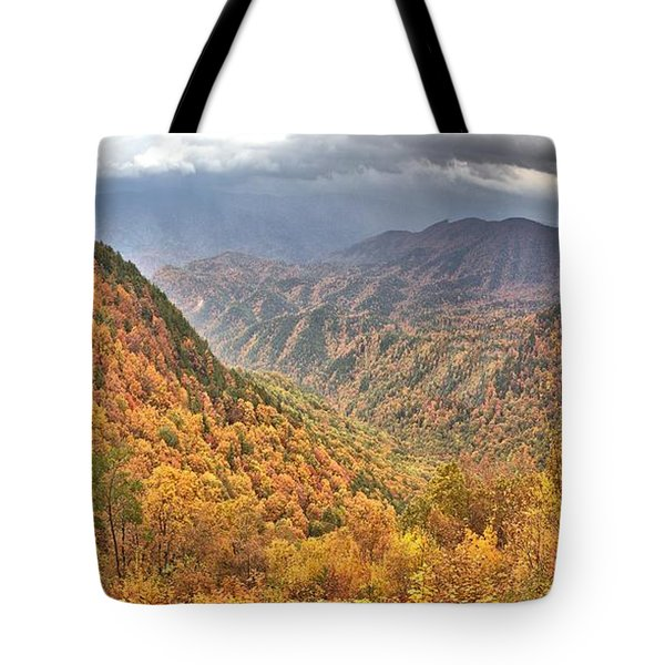 Storm Valley Tote Bag