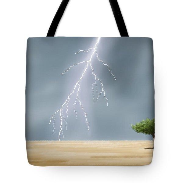 Storm Tote Bag by Veronica Minozzi