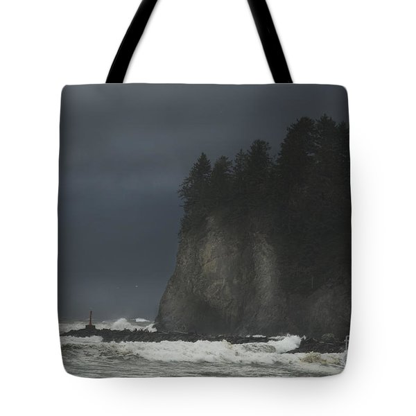 Storm At Lapush Washington State Tote Bag