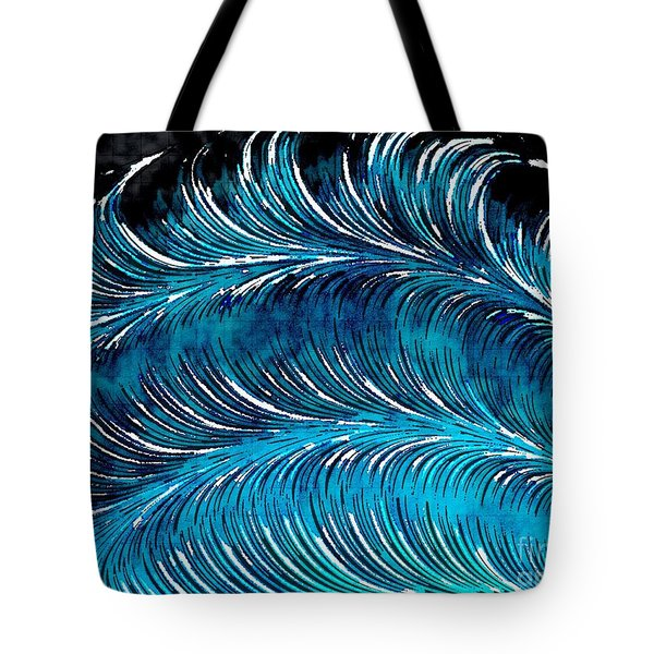 Storms At Sea Tote Bag