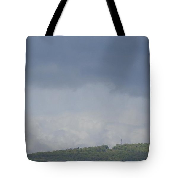 Storm's Coming  Tote Bag by Christina Verdgeline