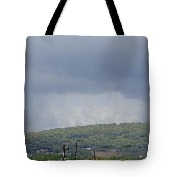 Storms Coming Diary Tote Bag by Christina Verdgeline