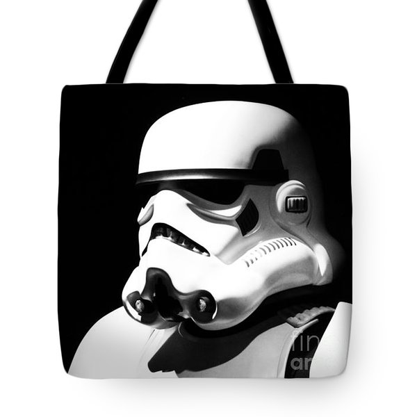 Stormtrooper Tote Bag by Chris Thomas
