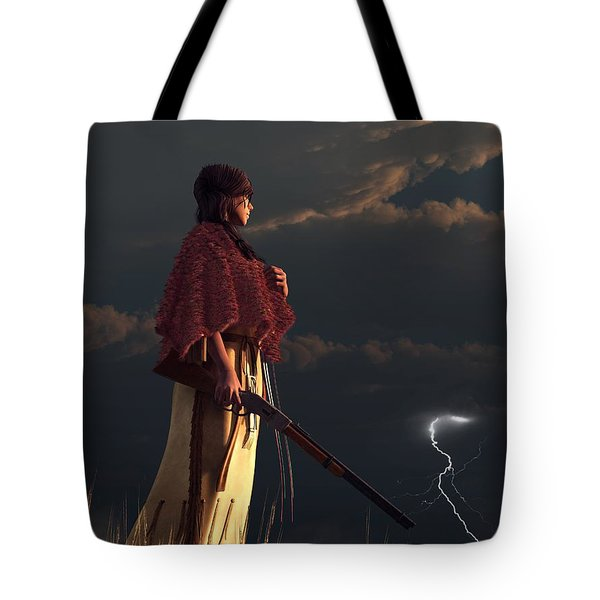 Stormwatcher Tote Bag