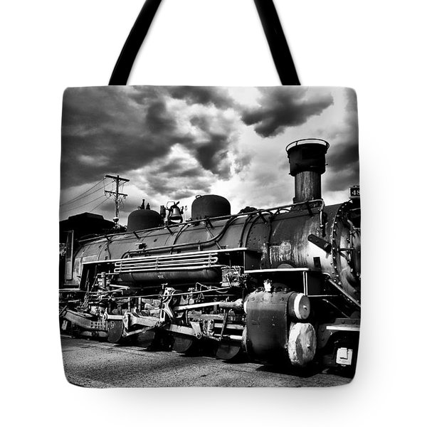 Stormy Arrival Tote Bag