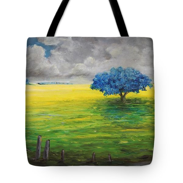 Stormy Clouds Tote Bag by Alicia Maury