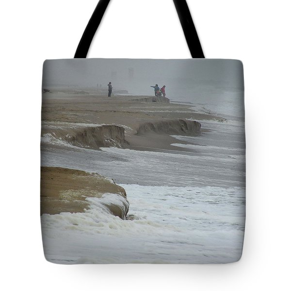 Stormy Day Tote Bag by Kim Bemis