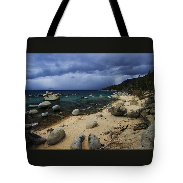 Tote Bag featuring the photograph Stormy Days  by Sean Sarsfield