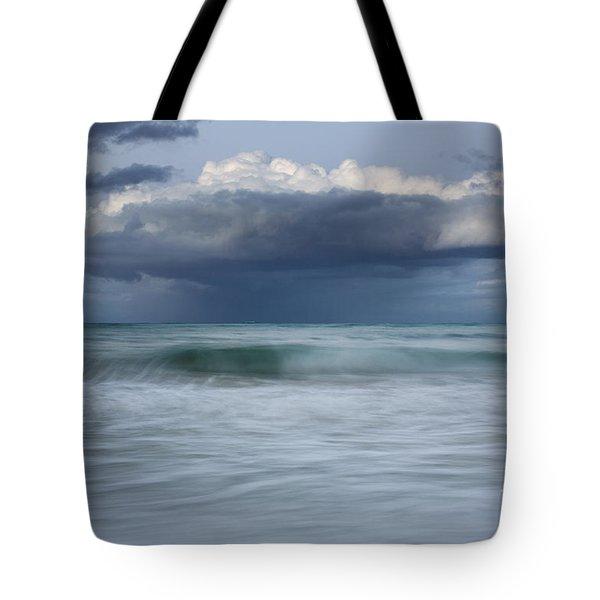 Stormy Ocean Tote Bag