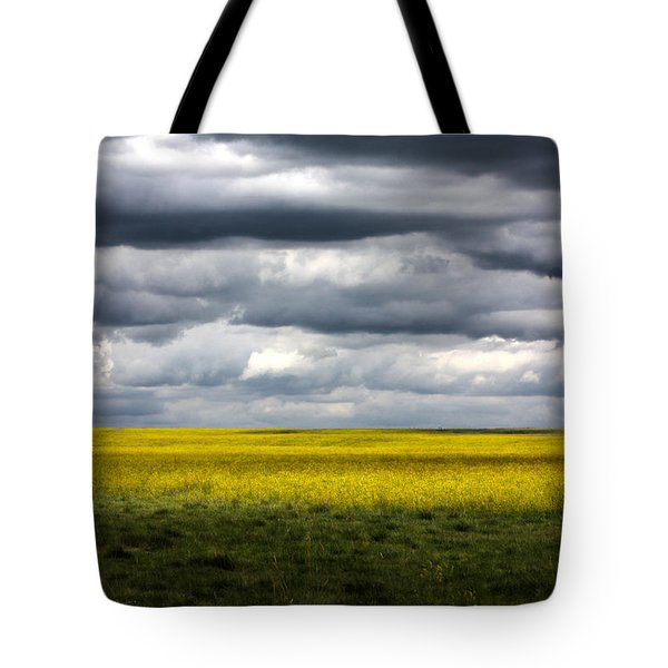 Stormy Plains Tote Bag