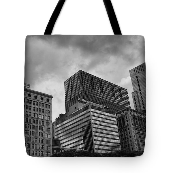 Tote Bag featuring the photograph Stormy Skies by Miguel Winterpacht