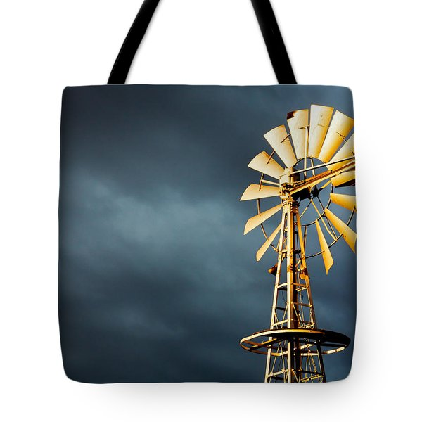 Tote Bag featuring the photograph Stormy Skies by Todd Klassy