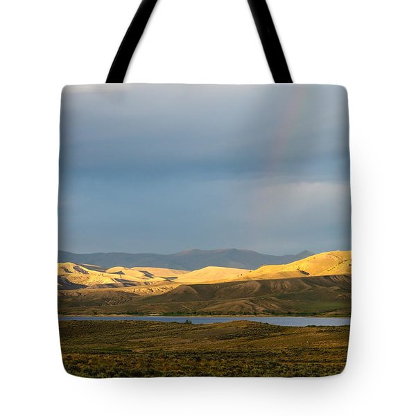 Stormy Sky With Rays Of Sunshine Tote Bag