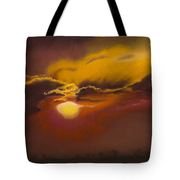 Stormy Sunset Over Kenya Tote Bag