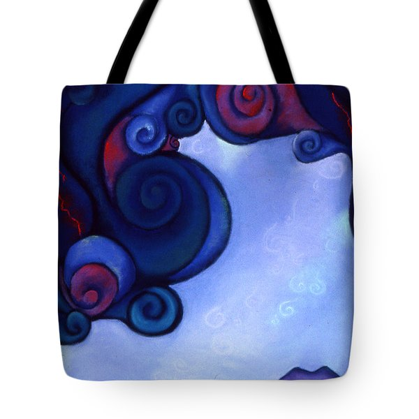 Stormy Tote Bag by Susan Will