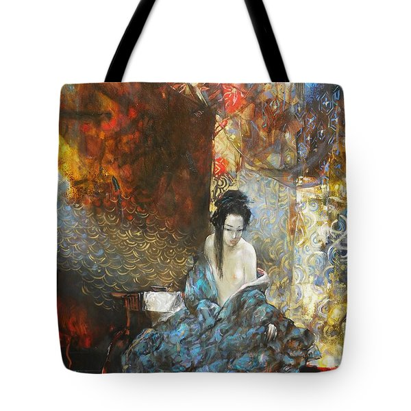 Story In The Chambers Tote Bag