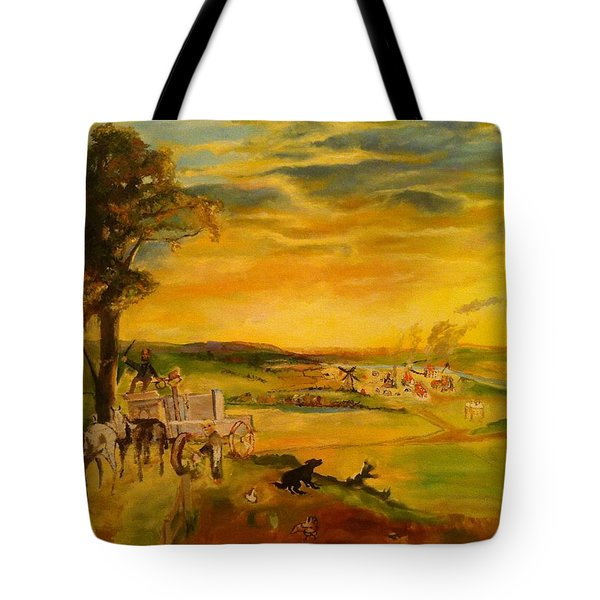 Story Tote Bag by Mary Ellen Anderson