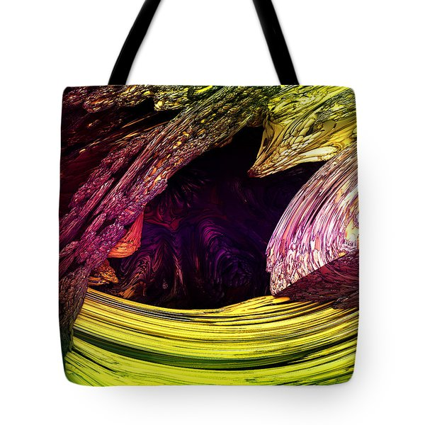 Tote Bag featuring the digital art Story Of My Life by Jeff Iverson