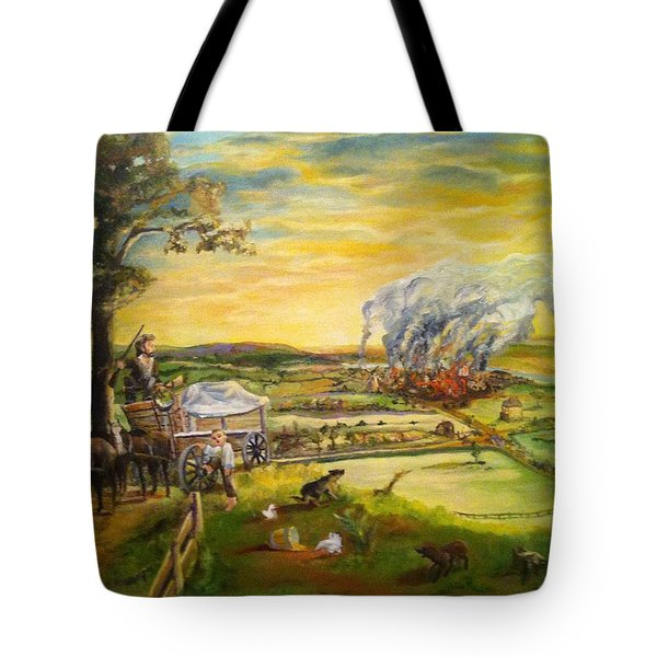 Story2 Tote Bag by Mary Ellen Anderson