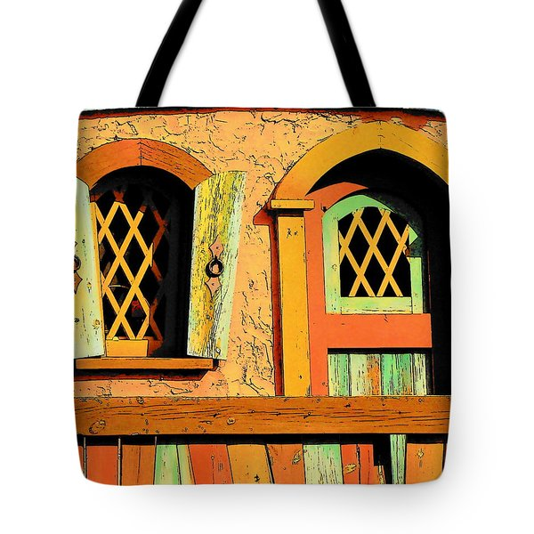 Storybook Window And Door Tote Bag