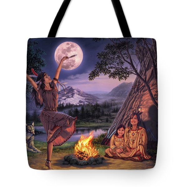 Storytelling Tote Bag by Steve Read